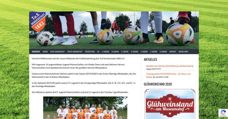 TuS Nordenstadt 1883 e.V. – Fussballabteilung